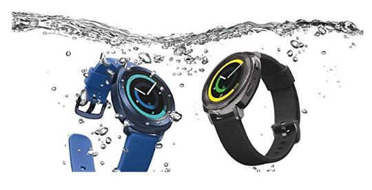 Samsung Gear Sport Smartwatch, GPS, Impermeabile 5ATM, Lettore MP3 Integrato, Nero