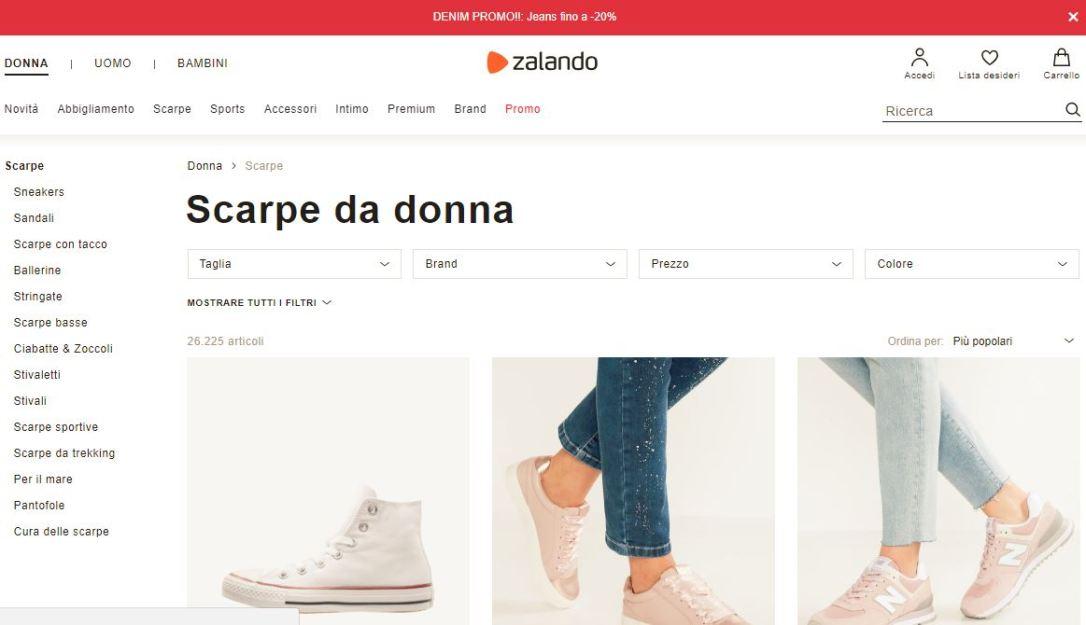 zalando scarpe